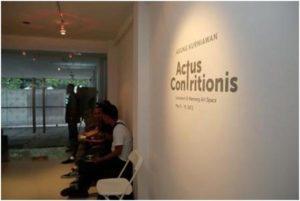 Actus Contritionis, Citraan Bayang-bayang Ingatan (1)