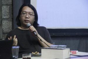 Martin Suryajaya Dalam Bedah Bukunya Sejarah Estetika