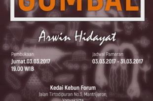 Pameran Tunggal Gombal Arwin Hidayat
